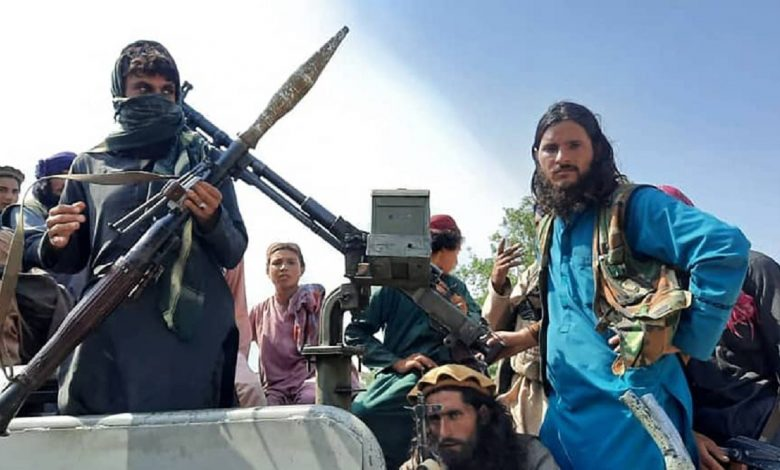 TALIBAN WITH HEAVY ARMS